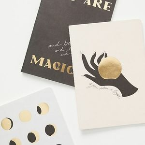 NWT Anthropologie Cocorrina You Are Magic Journals